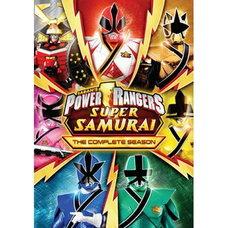 Power Rangers Super Samurai: The Complete Season (DVD) (Blue Power Ranger Samurai)