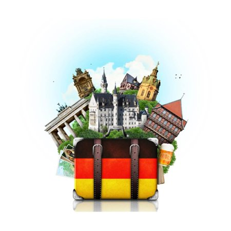Germany, German Landmarks, Travel Print Wall Art By (Best Time To Travel To Germany And Austria)