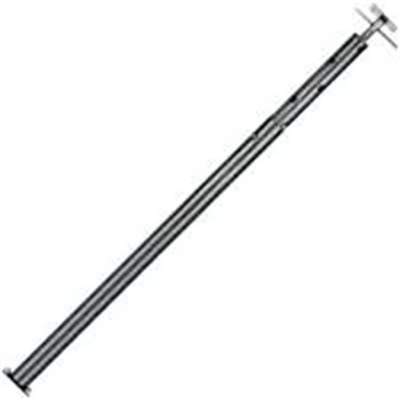 Marshall JP79 Adjustable Extend-O-Post Jackpost, 15 ga T x 4 ft 5 in - 7ft 9 in H, 8000 - 12000