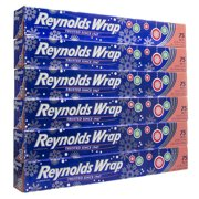 6 Pack Reynolds Wrap Silver Aluminum Foil 75 Sq Ft Rolls In Holiday Dispenser Boxes