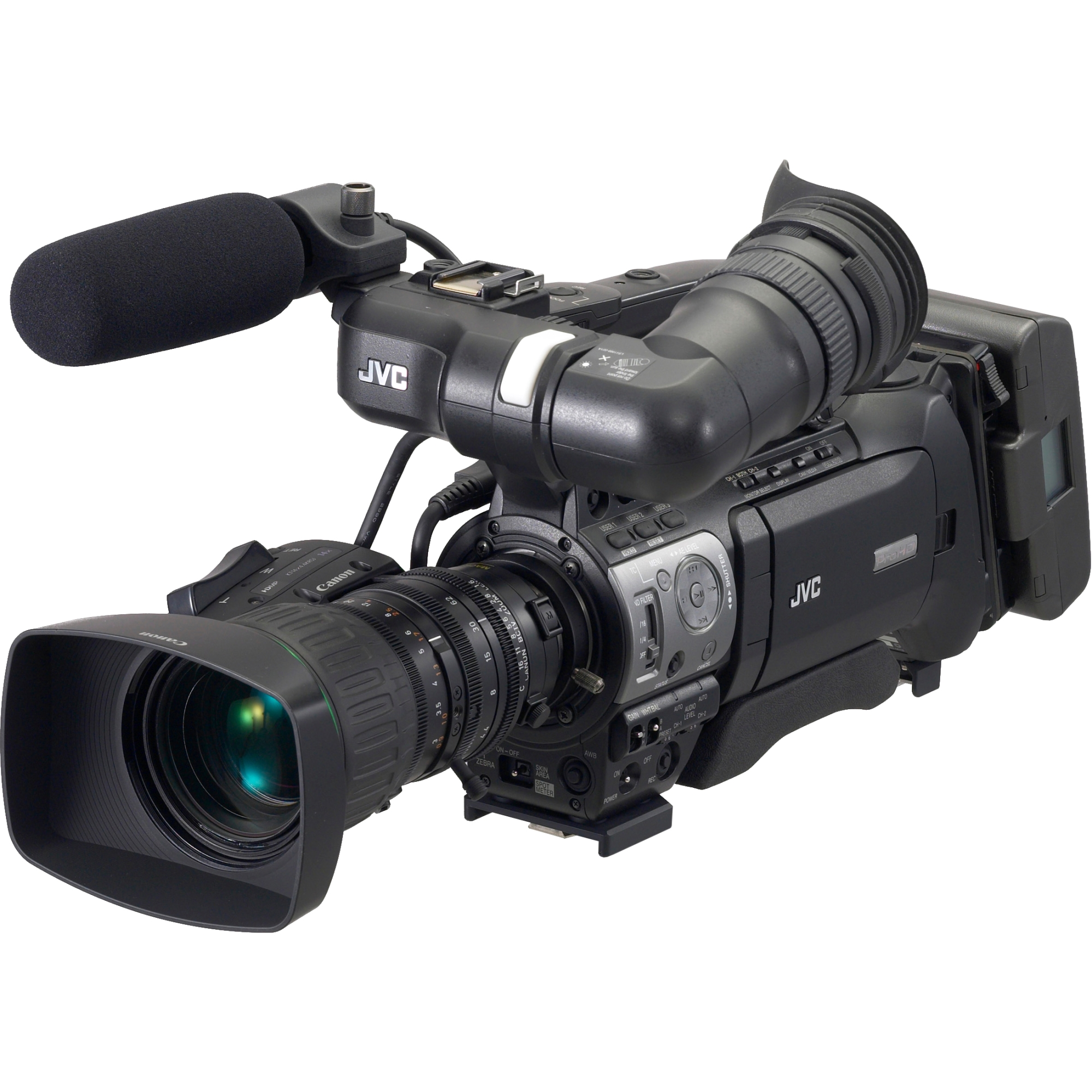 JVC GY-HM750 ProHD Camcorder w/Canon 14x Lens