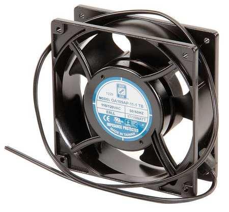 WIEGMANN Axial Fan,115VAC,4-5/7In H,4-5/7In W WA4AXFN