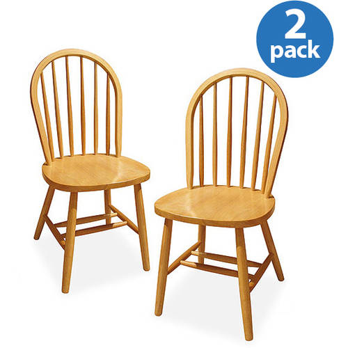 windsor chair, set of 2, multiple finishes - walmart