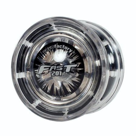 Yoyofactory Fast / F.A.S.T. 201 Professional Yoyo (Color: Gray / Grey / Black) - image 2 of 2