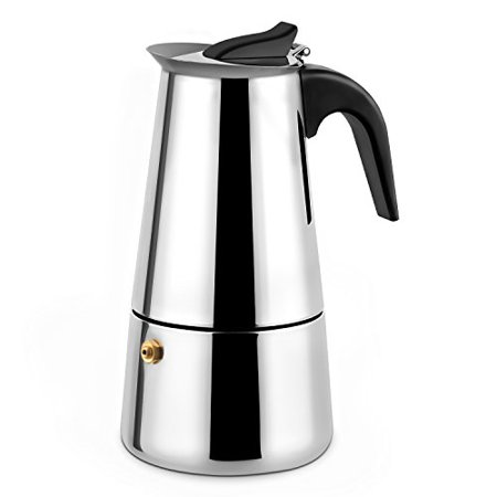 YOULANDA Stovetop Espresso Maker Stainless Steel Moka Pot ...