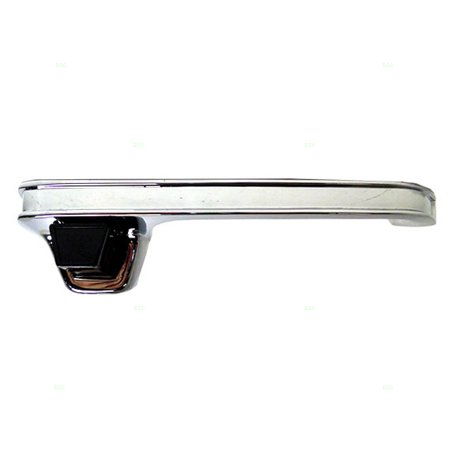 Gmc Chrome Door Handles - Outside Exterior Rear Chrome Back Door Handle Replacement for Chevrolet GMC Pickup Truck Suurban 6274816