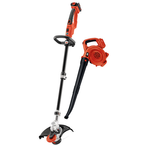 Black & Decker LCC420 20V MAX 4.0 Ah Lithium-Ion Cordless String Trimmer and Sweeper Combo Kit