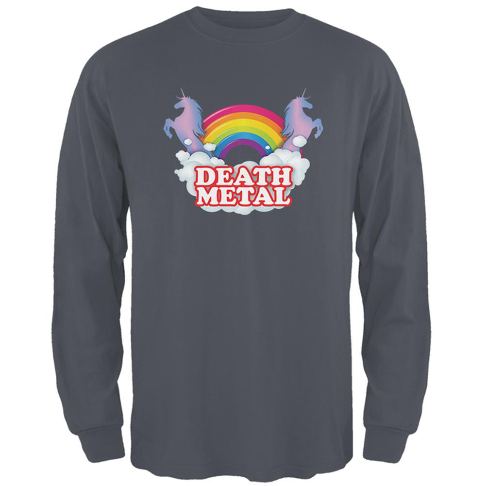 Death Metal Rainbow Mens Long Sleeve T Shirt