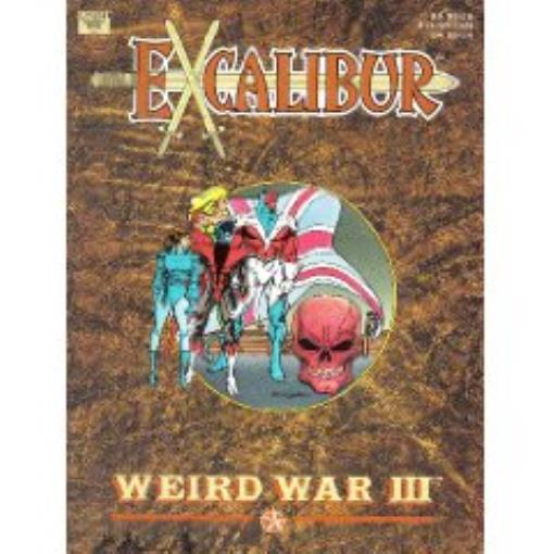 Excalibur Weird War III Lightly Used by Marvel Comics
