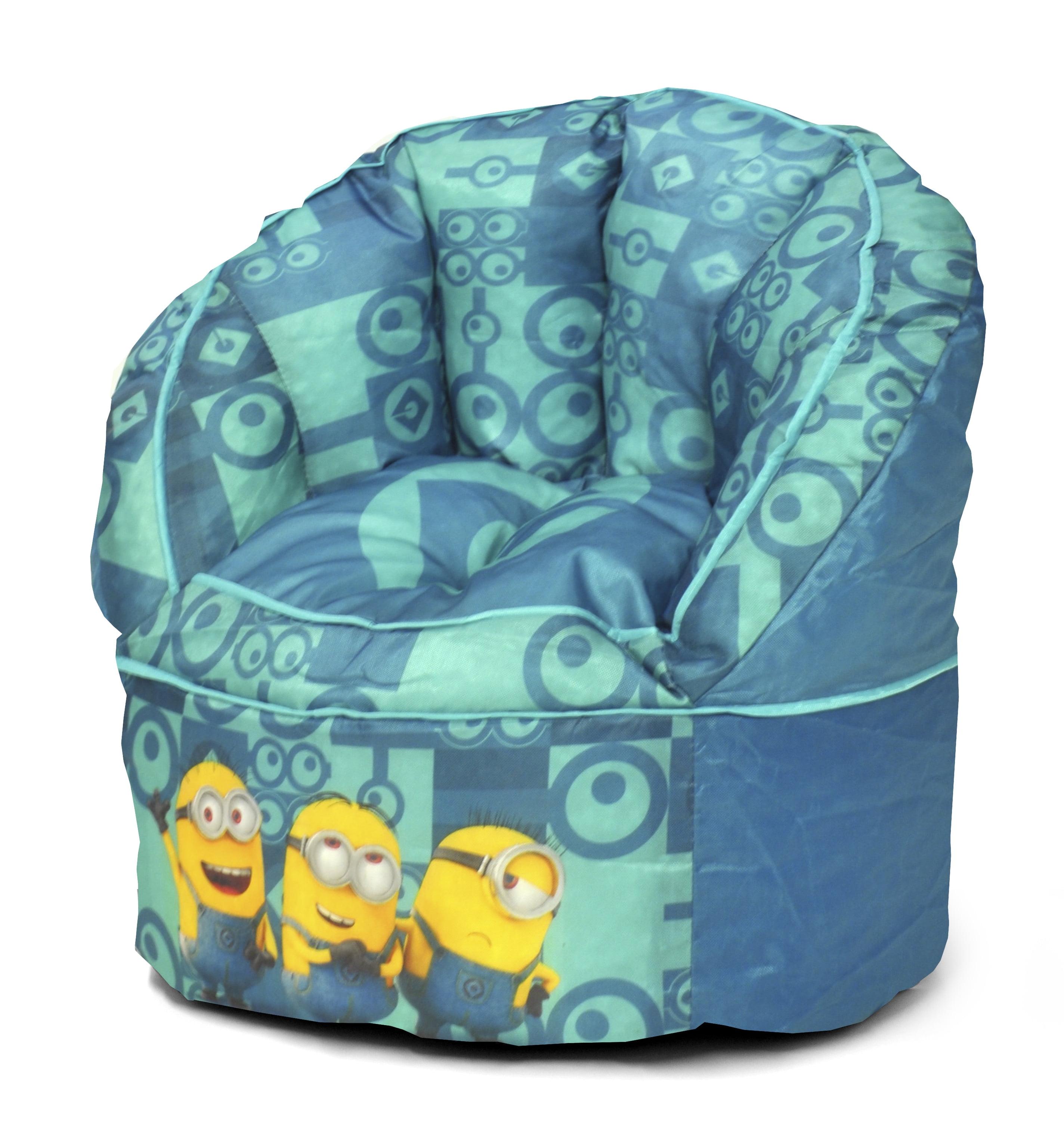 Superb Universal Minions Movie Kids Bean Bag Chair Walmart Com Bralicious Painted Fabric Chair Ideas Braliciousco