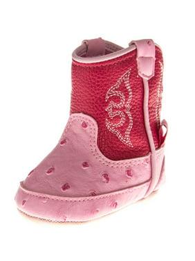 Blazin Roxx 4420230-04 Baby Bucker Kinsley Bootie, Pink - Size 4