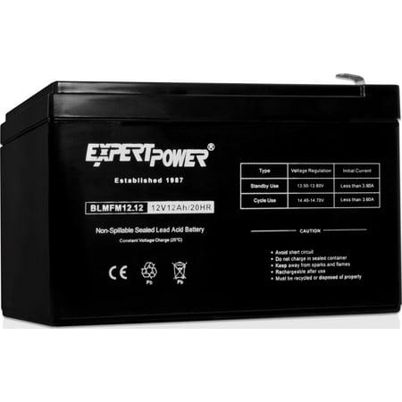 ExpertPower 12 Volt 12 Ah Rechargeable Battery || EXP12120