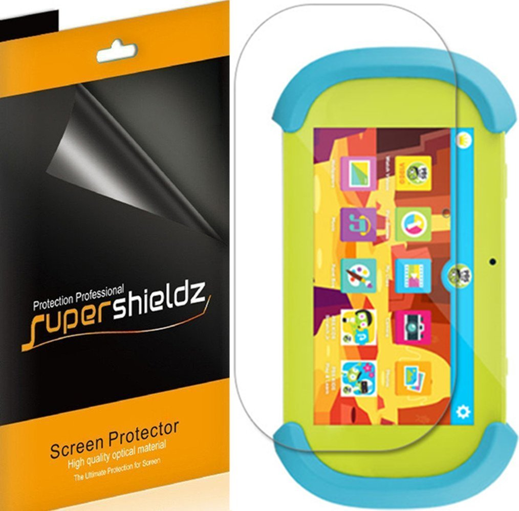 [3-Pack] Supershieldz Ematic PBS kids Playtime Pad 7 Screen Protector, Anti-Bubble High Definition (HD) Clear Shield