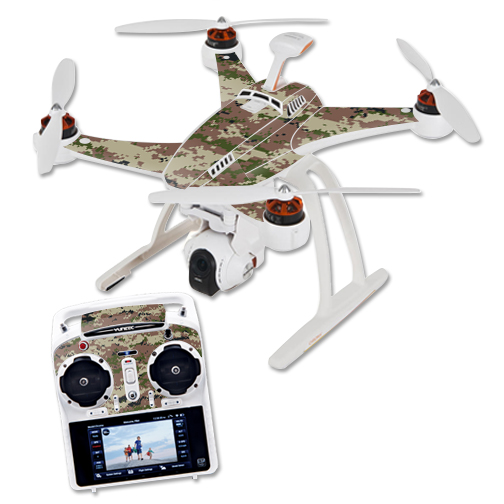 Skin Decal Wrap for Blade Chroma Quadcopter Drone Urban Camo