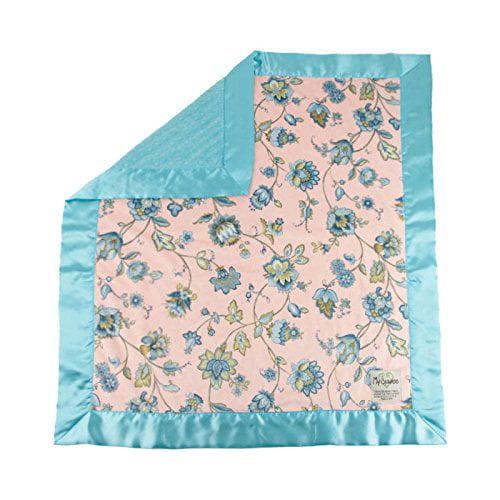 My Blankee Monique Minky w/ Minky Dot Topaz Baby Blanket,...