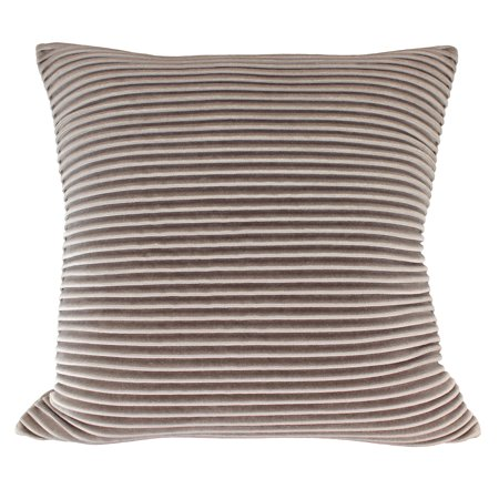 Better Homes & Gardens Pleated Velvet Decorative Throw Pillow, 18