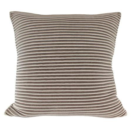 Green Pillows (Better Homes & Gardens Pleated Velvet Decorative Throw Pillow, 18