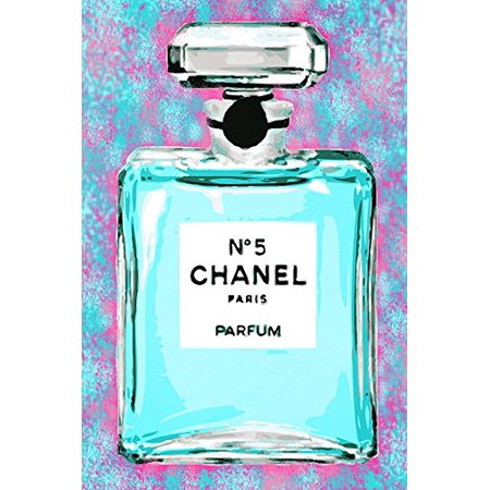 Cotton Candy Chanel No 5 18x12 Poster Pop Art Print by Kelissa Semple POD