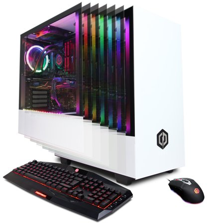 CYBERPOWERPC Gamer Xtreme Liquid Cool GLC6008W w/ Intel Core i7-9700K, AMD  Radeon RX 580 4GB, 16GB Memory, 240GB SSD, 1TB HDD, WiFi and Windows 10