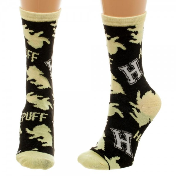 Crew Sock - Harry Potter -Hufflepuff Jrs New Licensed cr47qehpt
