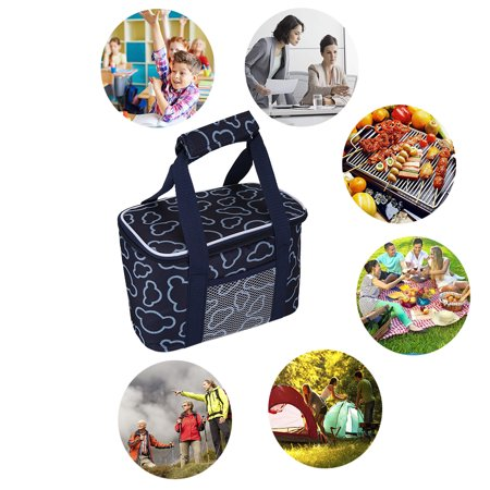 VGEBY Outdoor Fashionable Picnic Lunch Thermal Bag Reusable School Storage  Cool Box , Thermal Lunch Bag,Picnic Bag - Walmart.com ead1845ae0