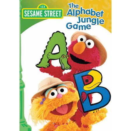 Jungle Games - Sesame Street: The Alphabet Jungle Game (Vudu Digital Video on Demand)