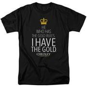Chrisley Knows Best Men's  Gold T-shirt Black