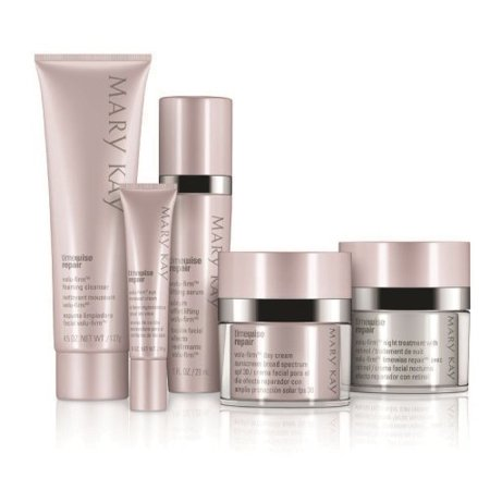 New Mary Kay TimeWise Repair Volu-Firm 5 Product Set Adv Skin Care Full Size (Full Size) (Mary Kay Eye Signature)