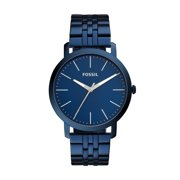 Best Fossil Watches For Men - Fossil Men's Luther Three Hand Ocean Blue Stainless Review