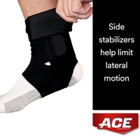 ACE Brand Deluxe Ankle Stabilizer, Adjustable, Comfortable