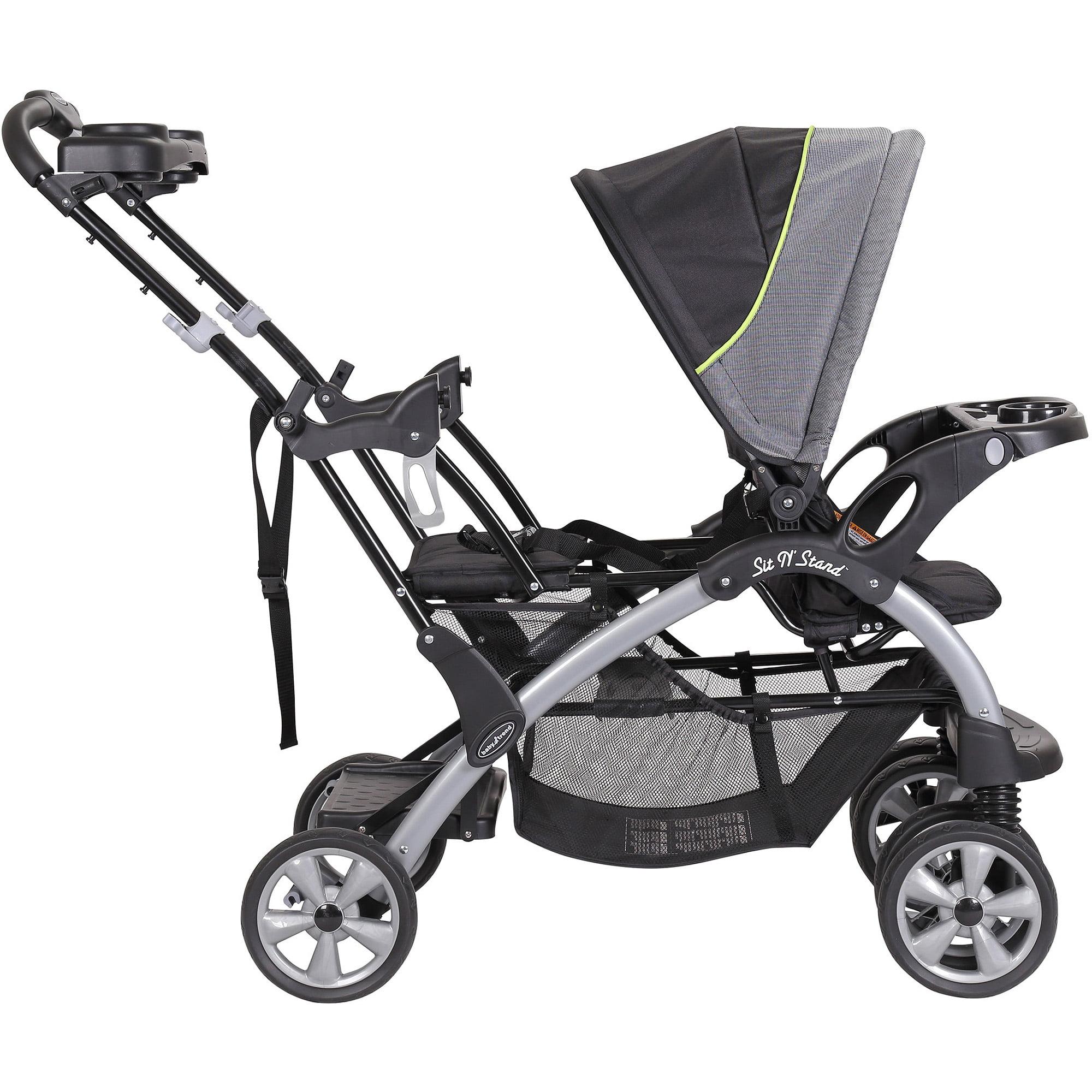 Baby Trend Sit 'N Stand Double Stroller, Pistachio - Walmart.com