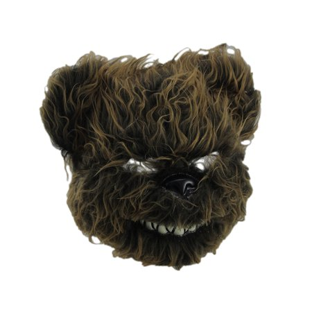 Hairy Scary Furry Evil Teddy Bear Mask - Hairy Feet