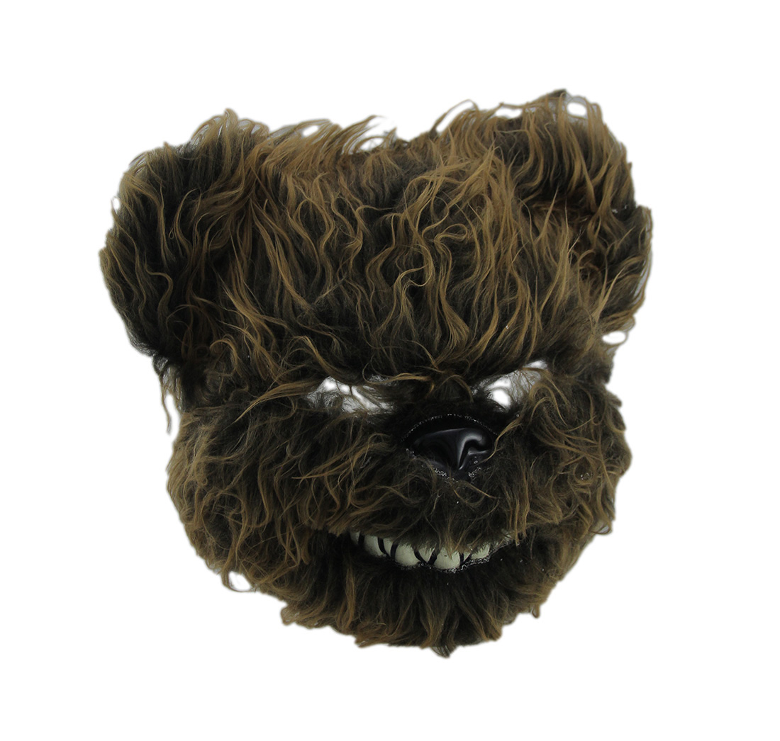 Hairy Scary Furry Evil Teddy Bear Mask