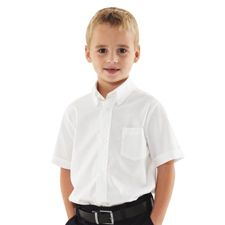 French Toast Boys 39 Short Sleeve Button Down Oxford Shirt