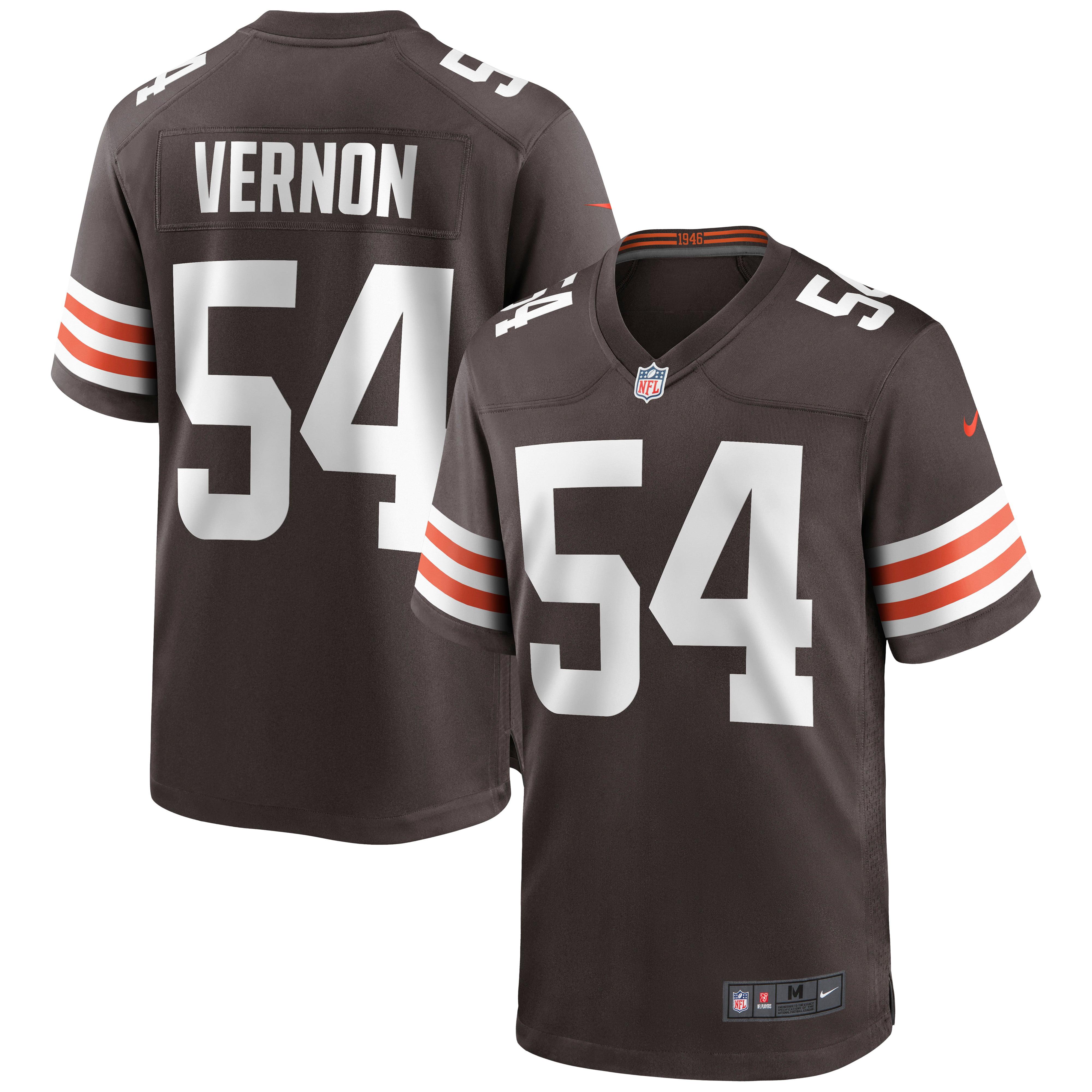 Olivier Vernon Cleveland Browns Nike Game Jersey - Brown - Walmart.com