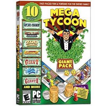 Mega Tycoon: The Giant Pack - 10 Complete Games in All ()