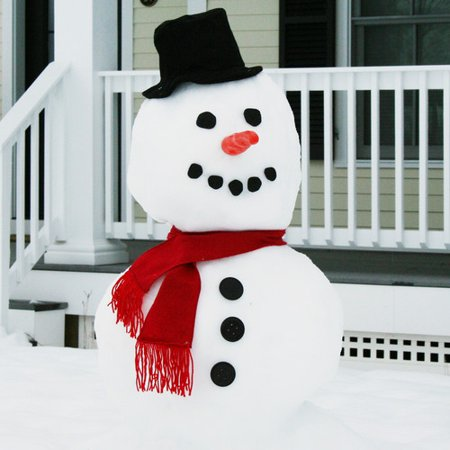 Evelots My Very Own Snowman Kit, 15 Pieces Included - Snowman Kit