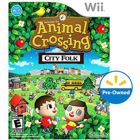Animal crossing city folk wii pre owned - Coupe animal crossing wii ...