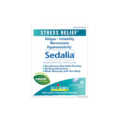 Boiron Sedalia Stress Relief Tablets, 60 - Stress Relief Jacket