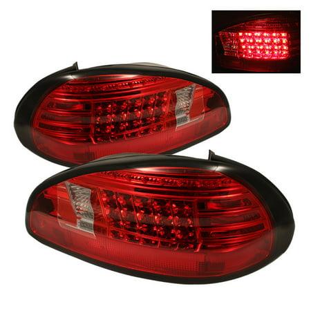 Sonar Led Tail Lights Red Clear 97 03 Pontiac Grand Prix