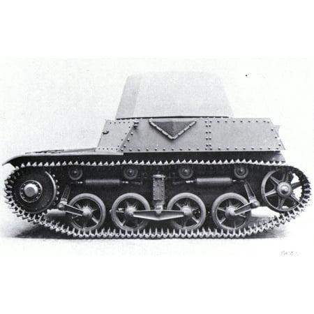 LAMINATED POSTER Nederlands: Digitale reproductie foto van het prototype van de AMC 34 tank Poster Print 24 x 36 (Foto De Fantasias De Halloween)