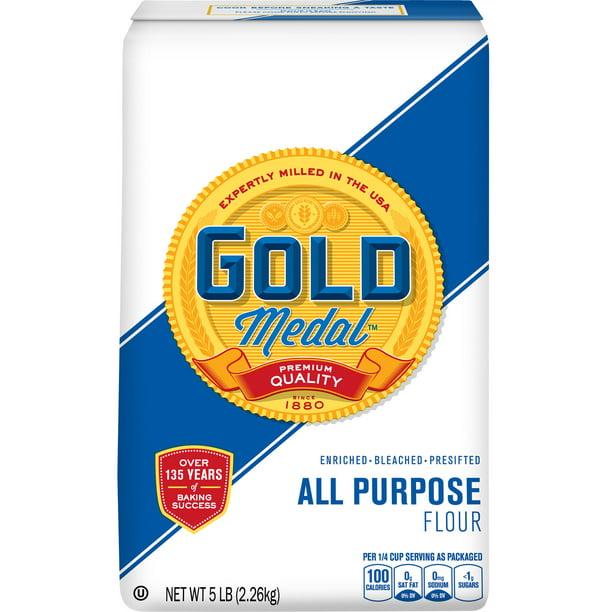 Gold Medal Flour All-Purpose, 5 lb Bag - Walmart.com - Walmart.com
