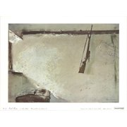 """ANDREW WYETH Karl's Room 14"""" x 16"""" Poster 1970 Realism Gray, Brown"""