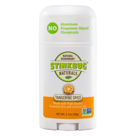 Stinkbug Naturals Tangerine Spice Stick Deodorant, 2.1 - Le Stick Natural