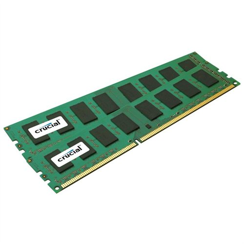 Crucial Technology CT2KIT25664BA160B 4gb Kit 2x2gb Pc3-12800 1600mhzmem Ddr3 240pin Dimm Unbuff Cl11 1.5v