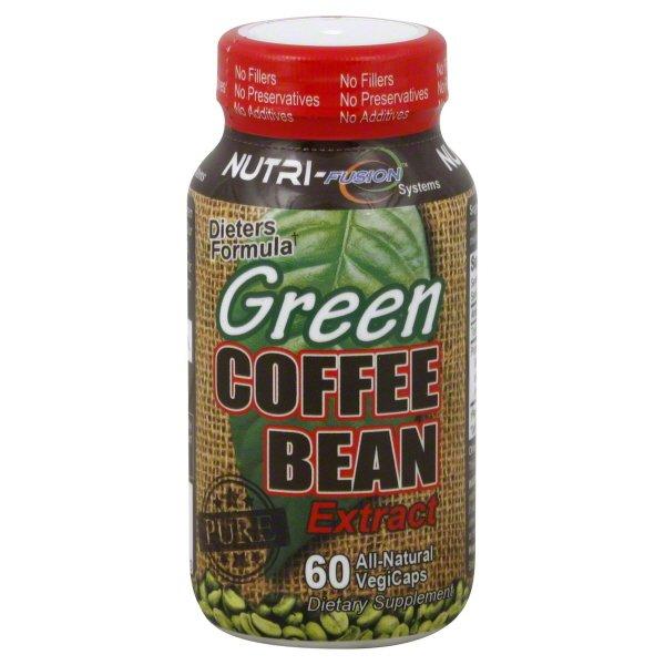 Nutri Fusion Systems Nutri Fusion Systems Green Coffee Bean