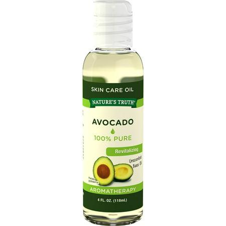 Beauty Oil Avocado - Nature's Truth Aromatherapy Avocado Skin Care Oil, Unscented, 4 Fl Oz