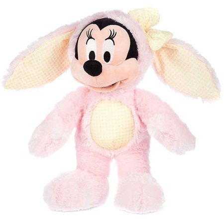 acf080e54f66 Disney Mickey Mouse Minnie Mouse Plush  Easter Bunny 2016  - Walmart.com
