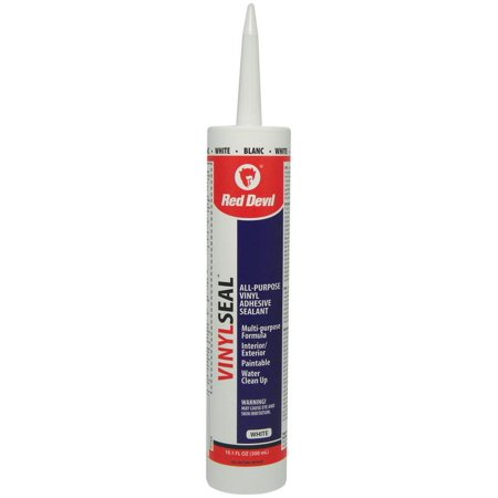 Paint Master 0114Ca Multi Purpose Adhesive Caulk  10 1 Oz  Cartridge  White