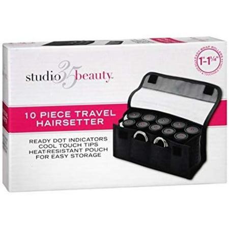 Studio 35 Beauty 10 Piece Travel Curlers 1